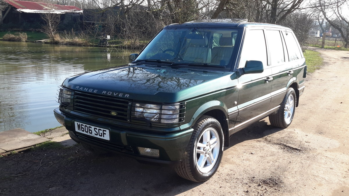 RANGE ROVER 4.6 VOGUE AUTOMATIC 2000  125000 MILES For Sale (picture 2 of 6)