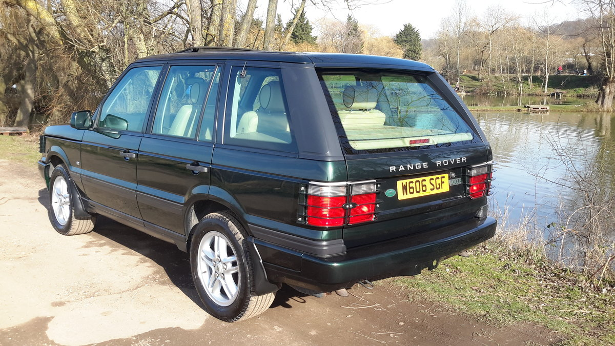 RANGE ROVER 4.6 VOGUE AUTOMATIC 2000  125000 MILES For Sale (picture 6 of 6)