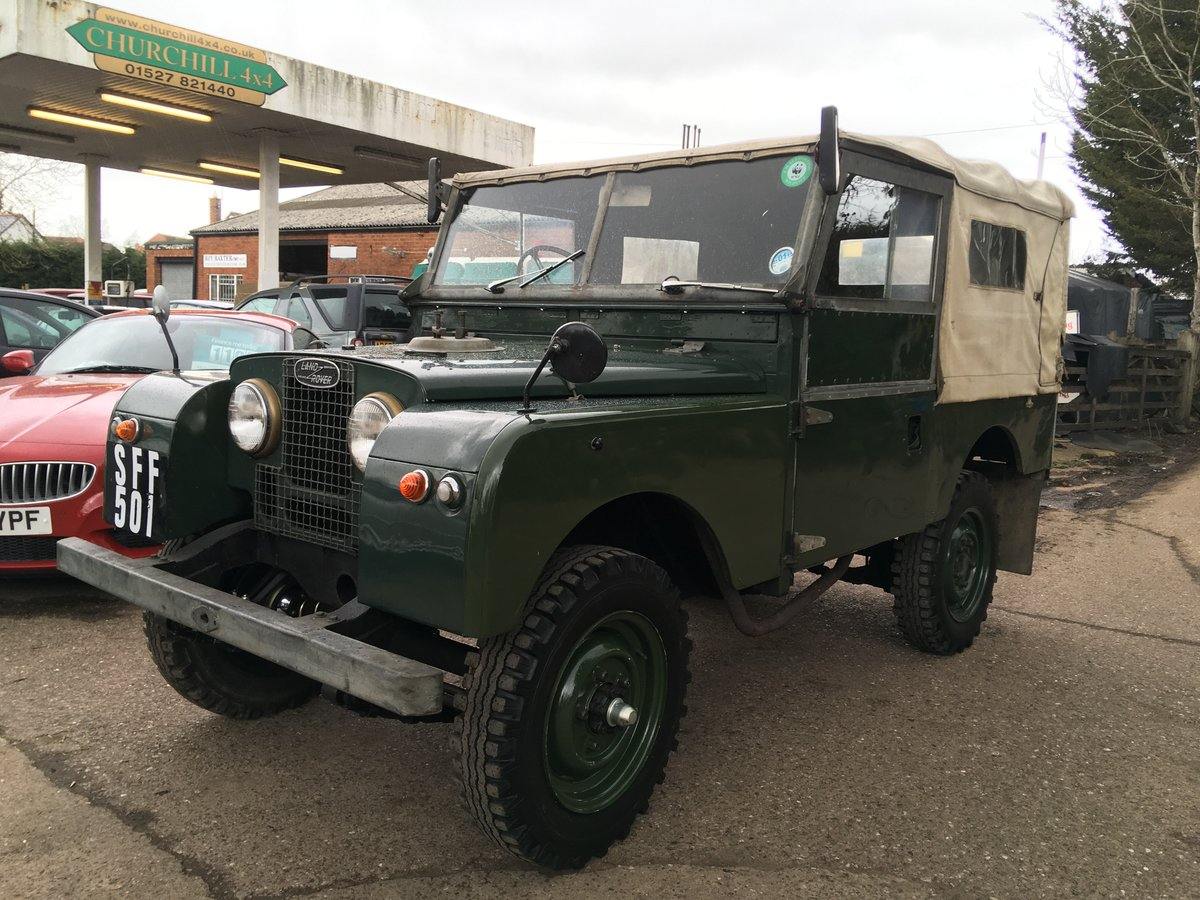 1955 Solid original type Series 1 For Sale (picture 1 of 6)