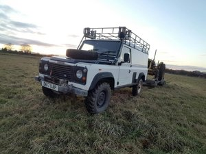 **REMAINS AVAILABLE**1986 Land Rover 110 Defender SOLD by Auction