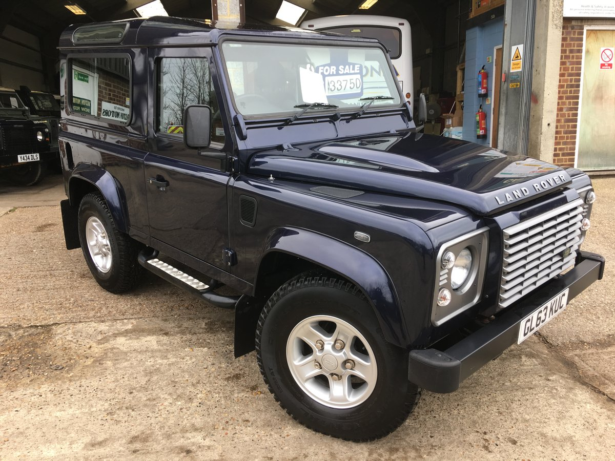 2014 land rover defender 90 tdci xs only 12000 miles mint For Sale (picture 1 of 6)