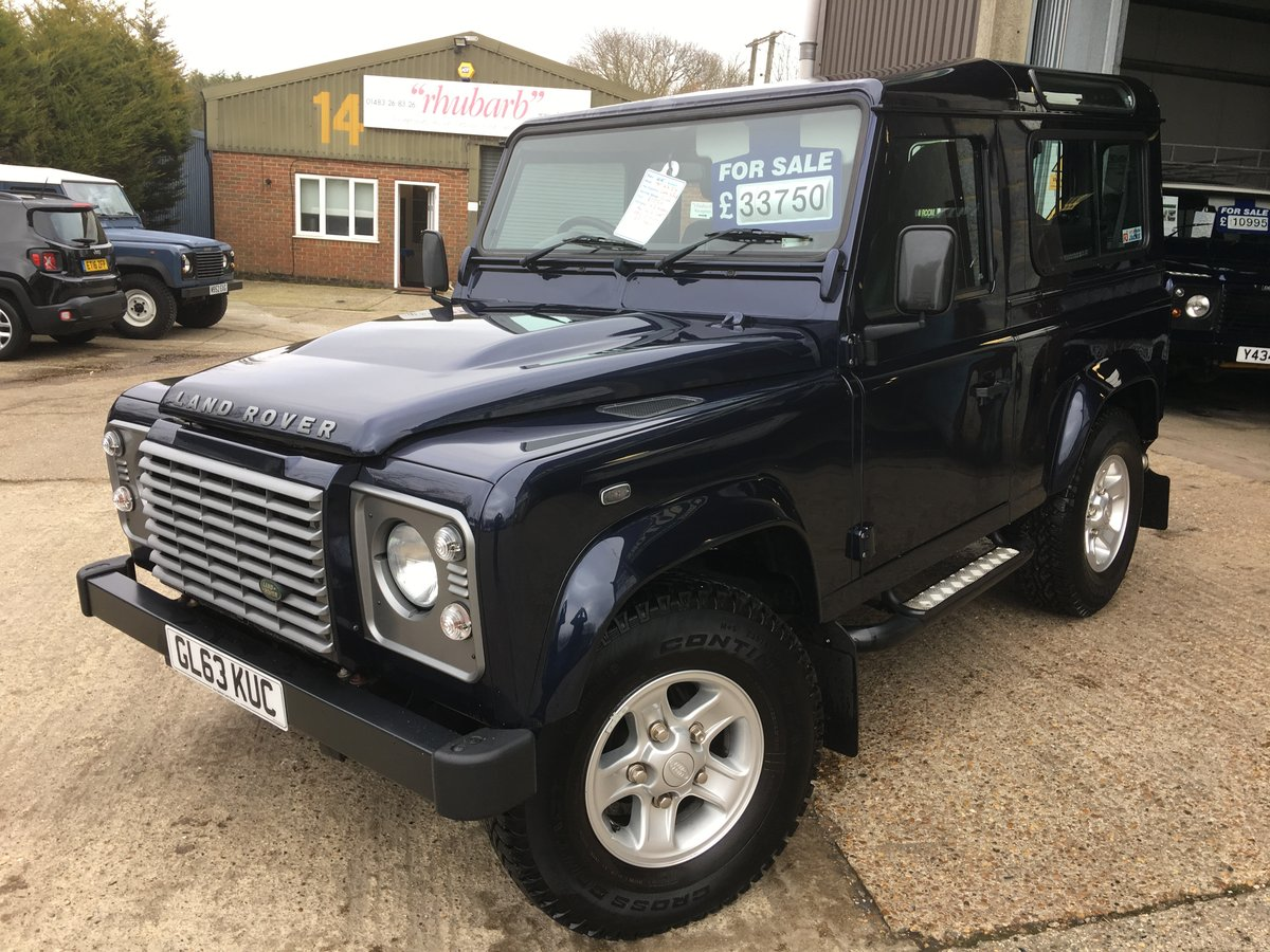 2014 land rover defender 90 tdci xs only 12000 miles mint For Sale (picture 2 of 6)