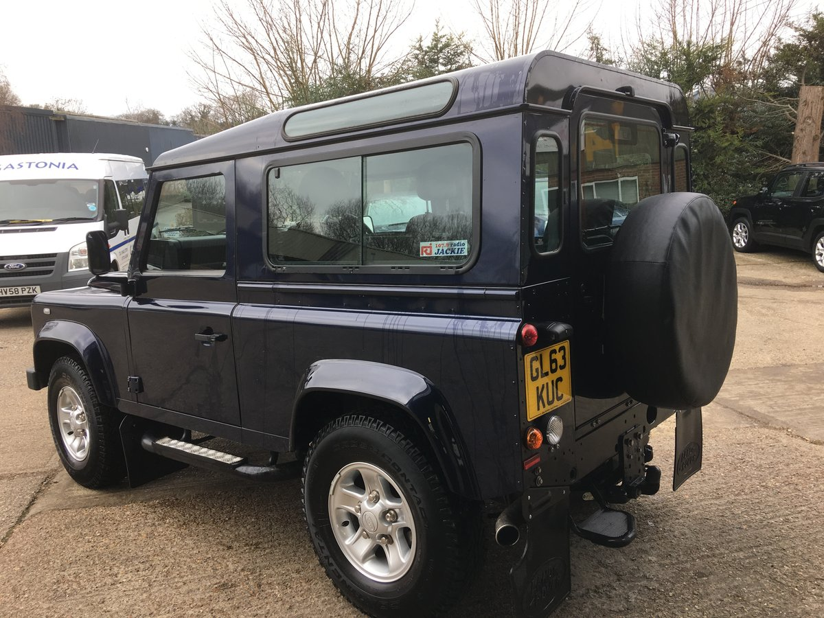 2014 land rover defender 90 tdci xs only 12000 miles mint For Sale (picture 4 of 6)