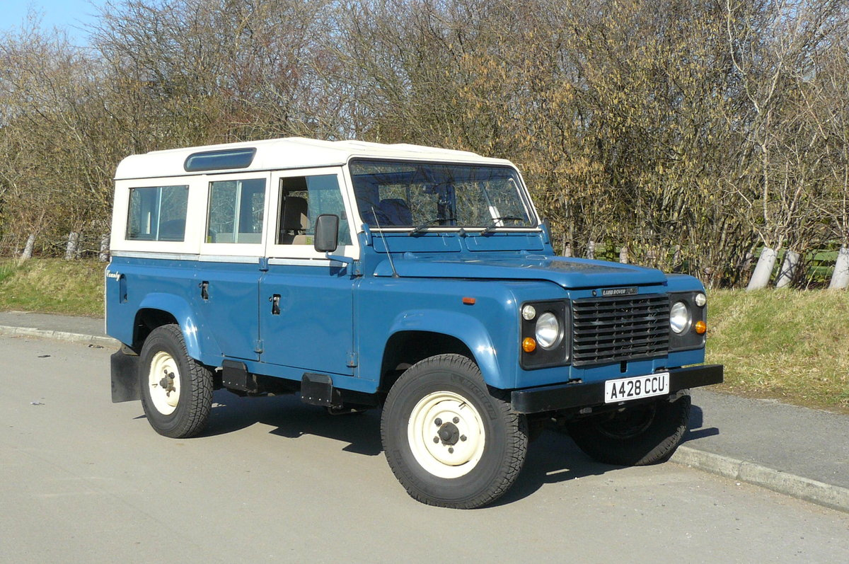 1984 DEFENDER 110 COUNTY STATION WAGON SOLD (picture 1 of 6)
