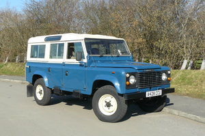 1984 DEFENDER 110 COUNTY STATION WAGON SOLD