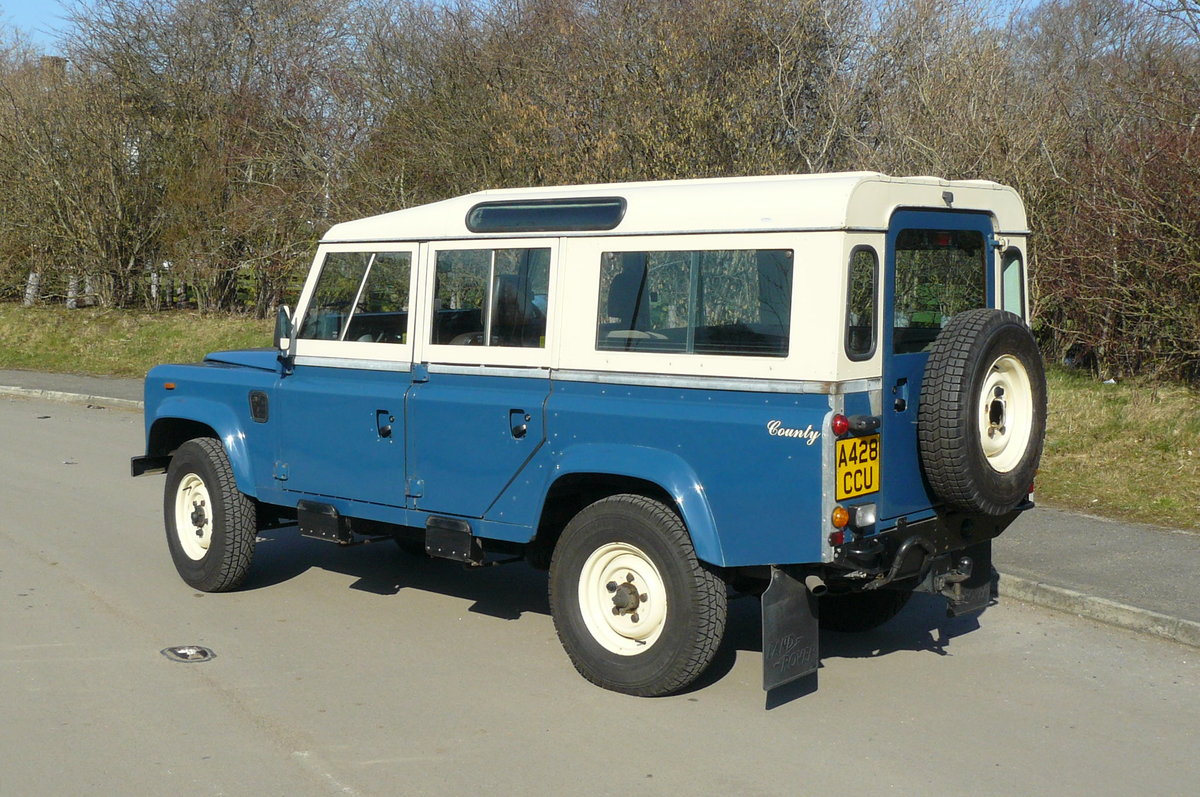 1984 DEFENDER 110 COUNTY STATION WAGON SOLD (picture 4 of 6)