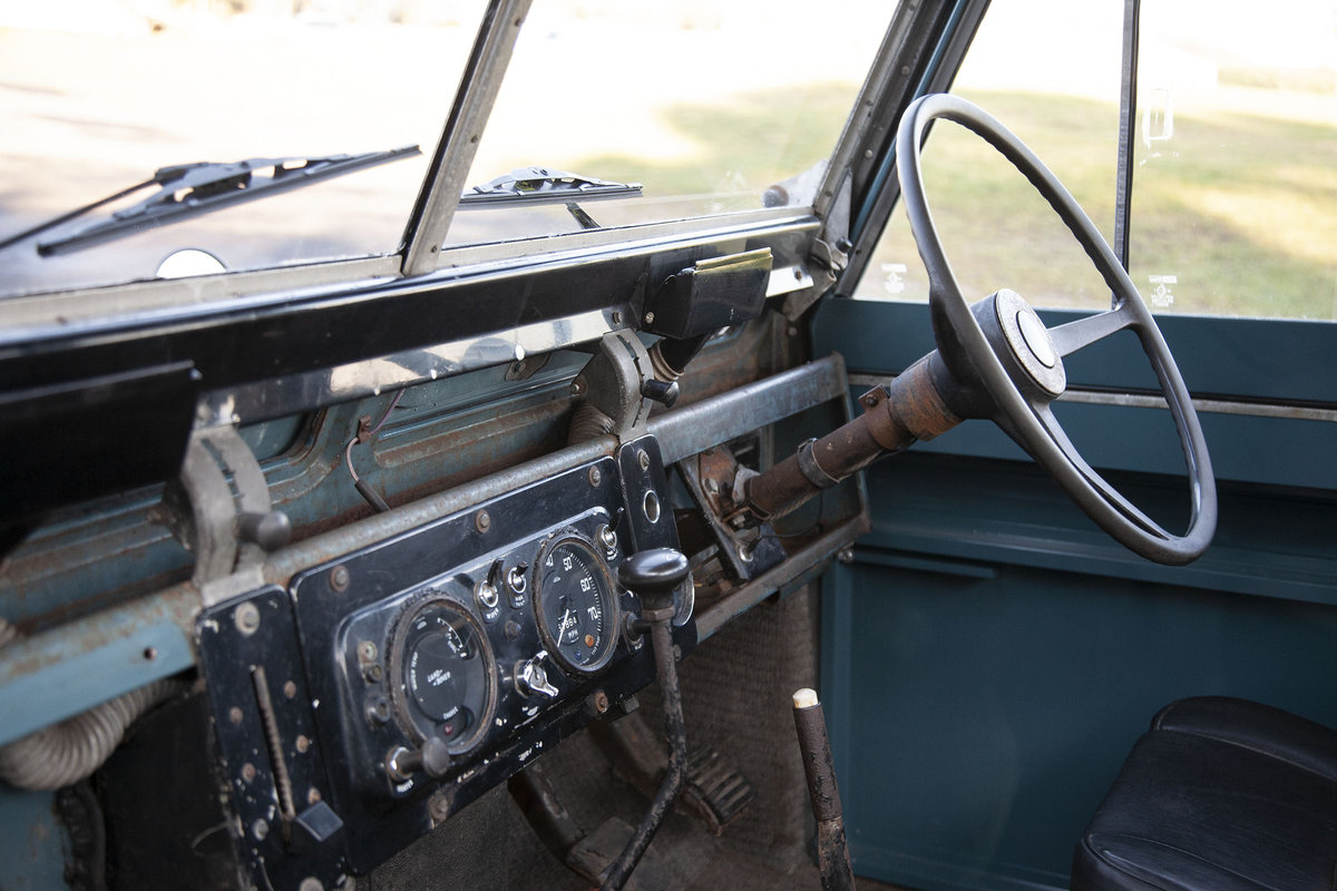 1969 Land Rover Series 2A - Ex RAF For Sale (picture 6 of 6)