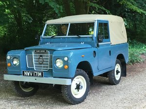 "1973 Land Rover Series 3 88"" For Sale"