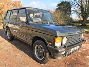 superb looking 1993 range rover vogue 4.2LSE with LPG For Sale