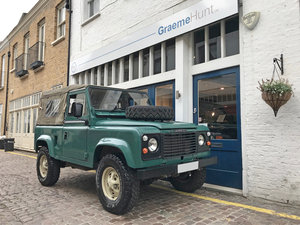 1984 Land Rover Defender Soft Top SOLD