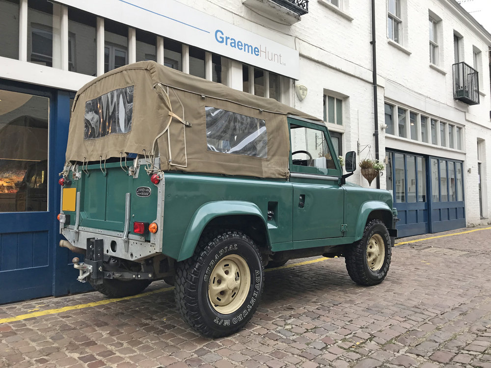 1984 Land Rover Defender Soft Top SOLD (picture 5 of 6)