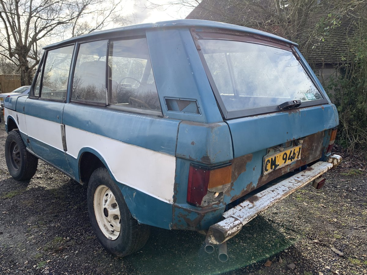 1971 suffix A Range Rover 2 door (genuine suffix A For Sale (picture 2 of 5)