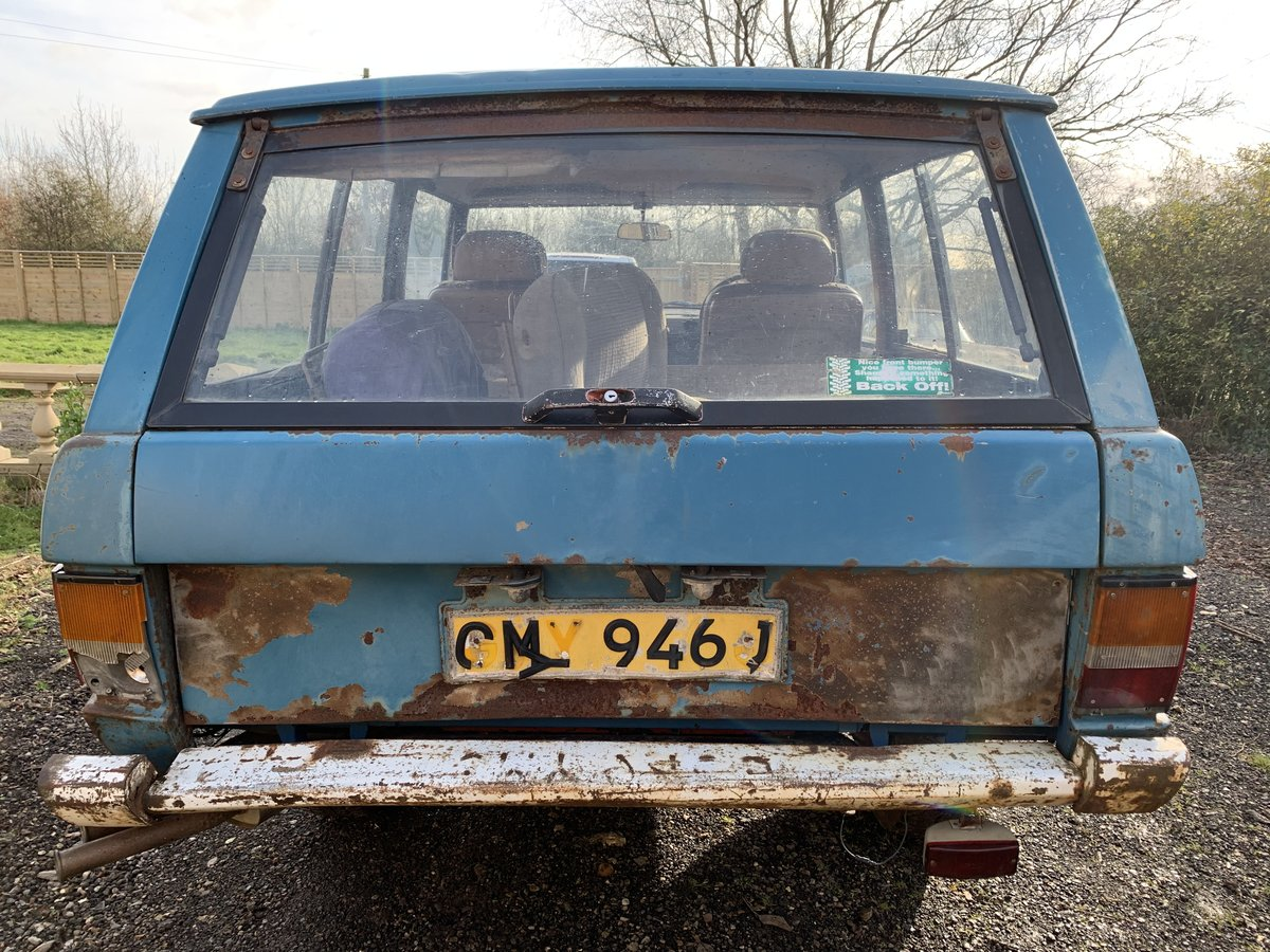 1971 suffix A Range Rover 2 door (genuine suffix A For Sale (picture 4 of 5)