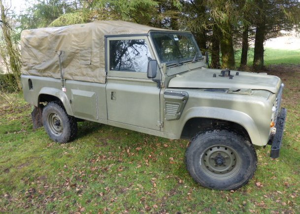 1984 LANDROVER WOLF REPLICA TUM 110 AUTOMATIC 300 TDI For Sale (picture 1 of 6)