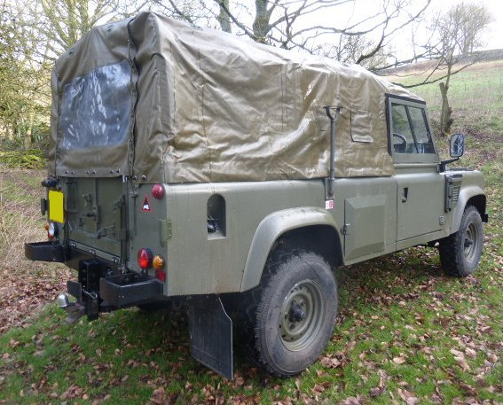 1984 LANDROVER WOLF REPLICA TUM 110 AUTOMATIC 300 TDI For Sale (picture 2 of 6)
