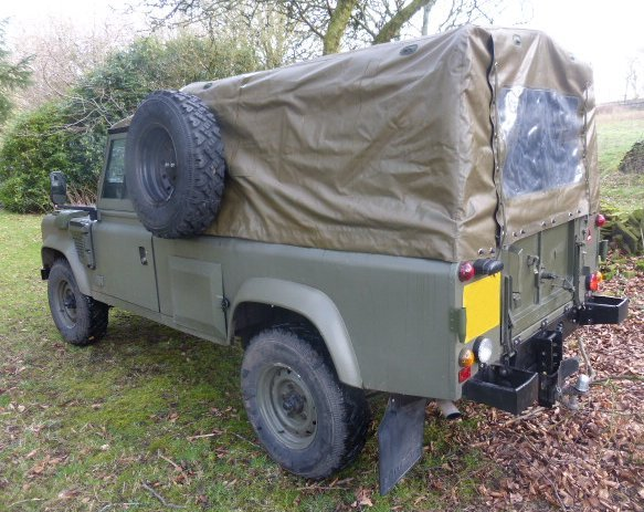 1984 LANDROVER WOLF REPLICA TUM 110 AUTOMATIC 300 TDI For Sale (picture 3 of 6)