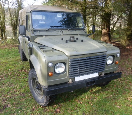 1984 LANDROVER WOLF REPLICA TUM 110 AUTOMATIC 300 TDI For Sale (picture 5 of 6)