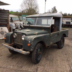 1954 Series 1 86 inch Truck Cab Land Rover for Restoration  For Sale