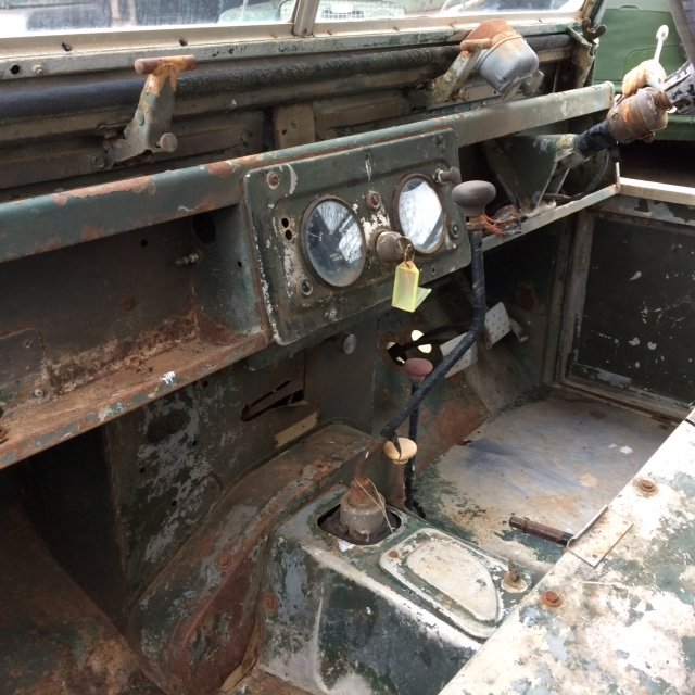 1954 Series 1 86 inch Truck Cab Land Rover for Restoration  For Sale (picture 4 of 6)