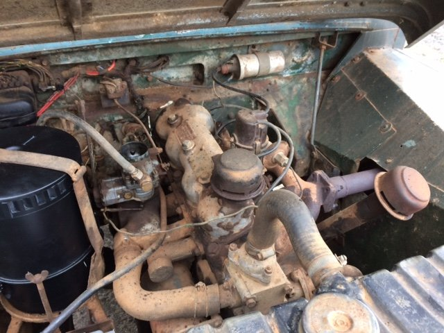 1954 Series 1 86 inch Truck Cab Land Rover for Restoration  For Sale (picture 6 of 6)