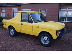1982 Range Rover pick-up 3.5 v8 automatic
