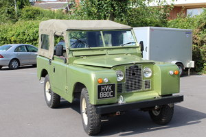 1966 Land Rover Series 2a 2.25 petrol Soft top