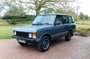 1984 Land Rover Range Rover Vogue For Sale by Auction