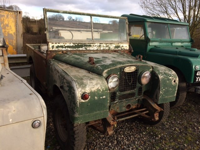 1952 Series 1 80 inch Land Rover for Restoration - Great Chassis For Sale (picture 1 of 4)