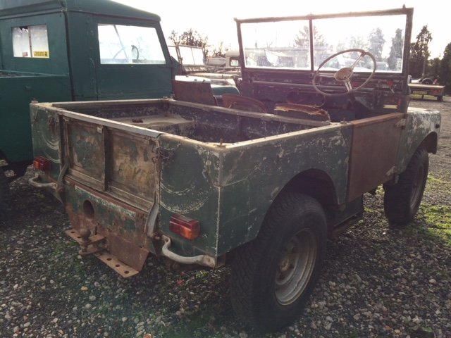1952 Series 1 80 inch Land Rover for Restoration - Great Chassis For Sale (picture 2 of 4)