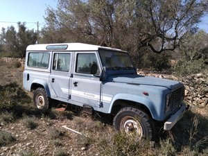 1985 LAND ROVER DEFENDER 110, SOLD