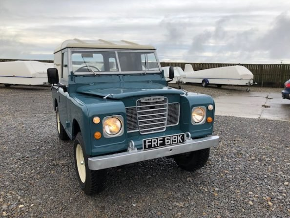 1972 Land Rover ® Series 3 *Number 89* (FRF) For Sale (picture 2 of 6)