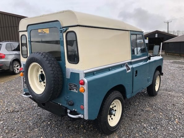 1972 Land Rover ® Series 3 *Number 89* (FRF) For Sale (picture 3 of 6)