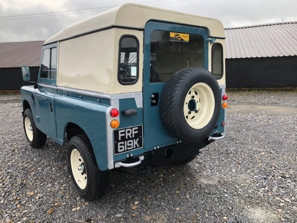 1972 Land Rover ® Series 3 *Number 89* (FRF) For Sale (picture 4 of 6)
