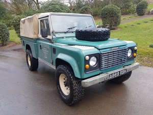 1984 LAND ROVER DEFENDER 110 300TDI HI-CAP 'PATINA'