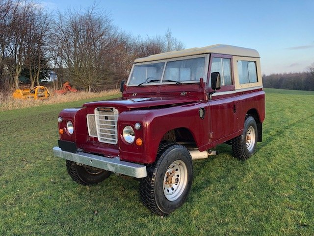1972 Land Rover Series 3 (Burgundy) - 200tdi SOLD (picture 1 of 5)