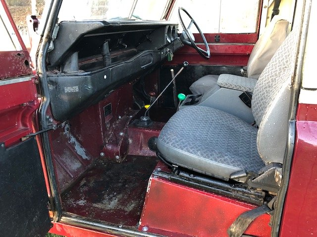 1972 Land Rover Series 3 (Burgundy) - 200tdi SOLD (picture 5 of 5)