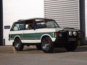 1985 Range Rover 3 Door - Just 22800 miles !!! For Sale by Auction