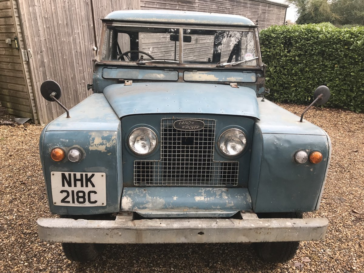 "Land Rover Series 2a IIa 88"" SWB 1965, Tax & MOT exempt SOLD (picture 1 of 6)"