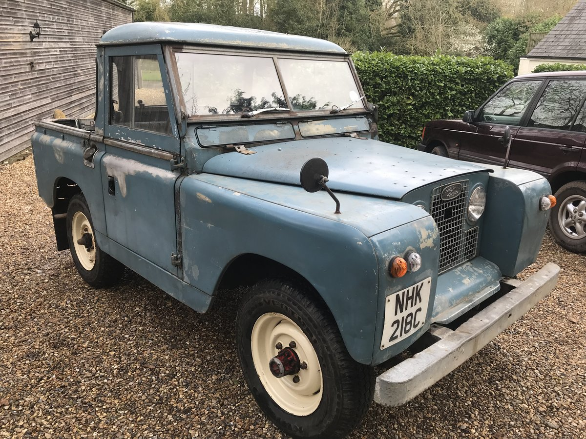 "Land Rover Series 2a IIa 88"" SWB 1965, Tax & MOT exempt SOLD (picture 2 of 6)"