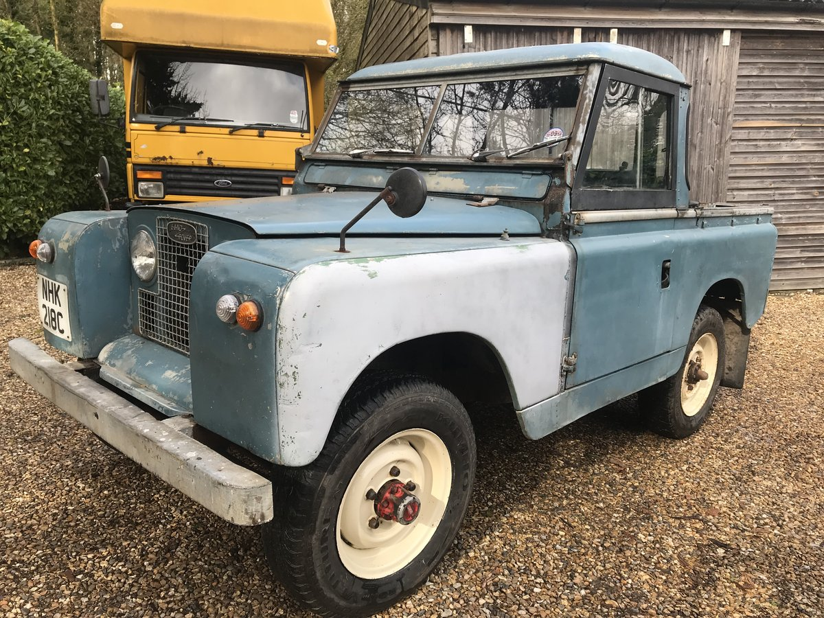 "Land Rover Series 2a IIa 88"" SWB 1965, Tax & MOT exempt SOLD (picture 3 of 6)"