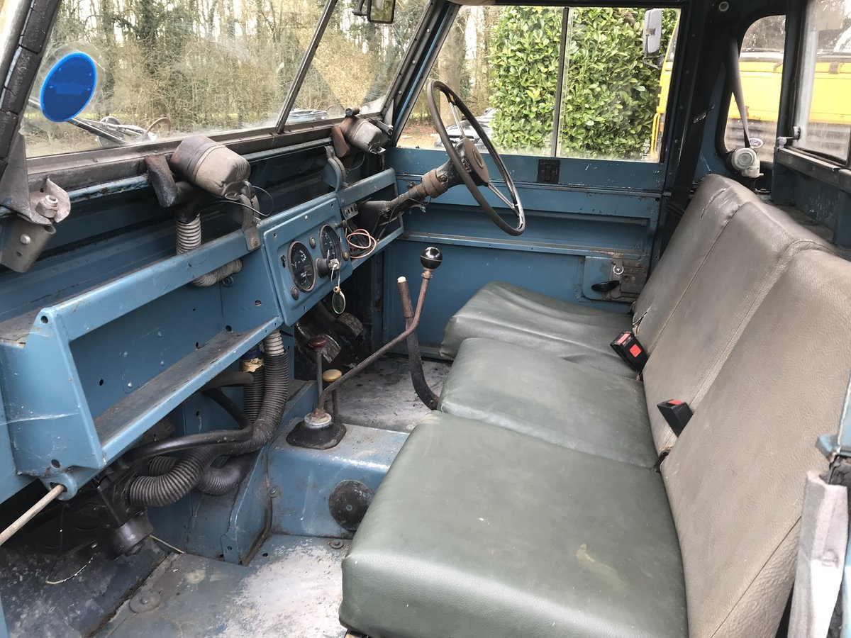 "Land Rover Series 2a IIa 88"" SWB 1965, Tax & MOT exempt SOLD (picture 6 of 6)"