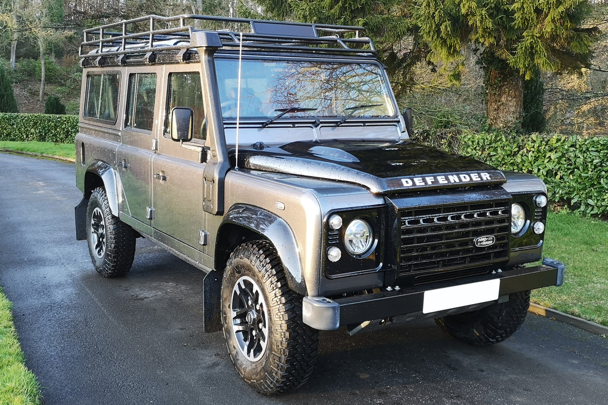 2016 Land Rover Defender 110 Adventure Edition, 34 miles from new For Sale (picture 1 of 6)