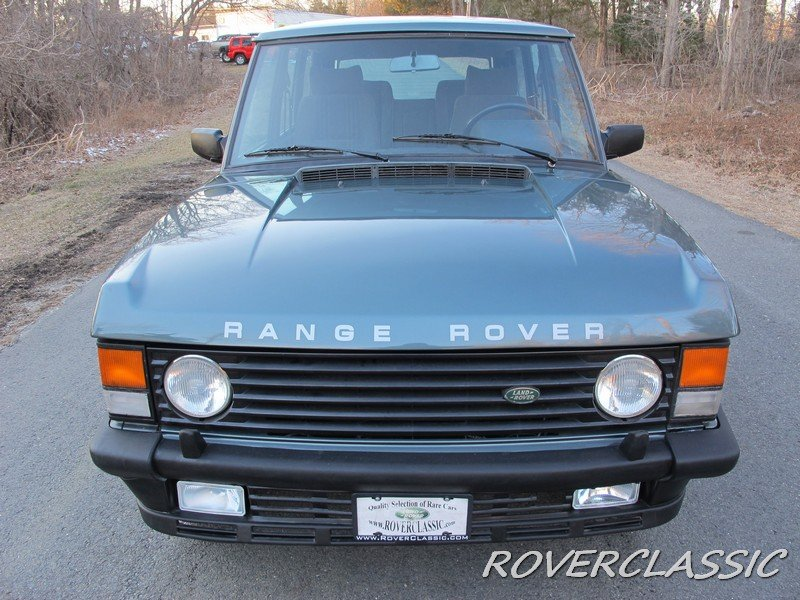 1989 LAND ROVER RANGE ROVER COUNTY TDI ... 85,013 For Sale (picture 1 of 6)