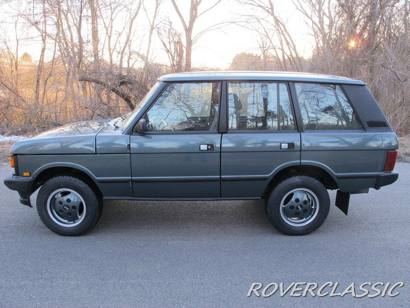 1989 LAND ROVER RANGE ROVER COUNTY TDI ... 85,013 For Sale (picture 2 of 6)
