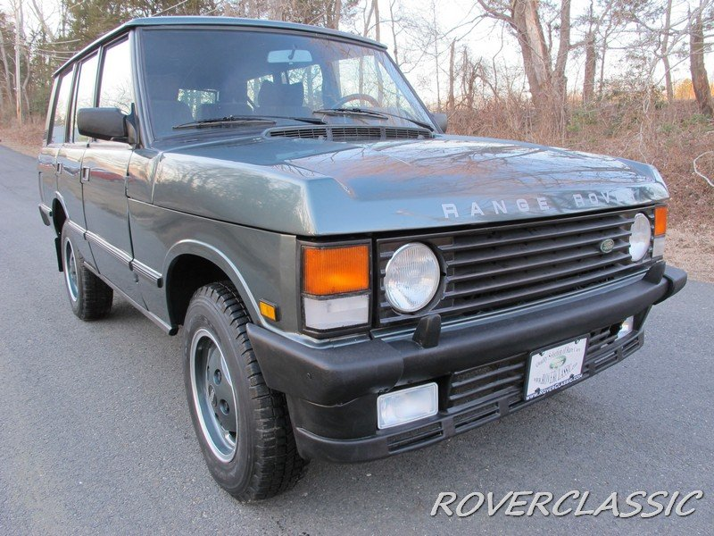1989 LAND ROVER RANGE ROVER COUNTY TDI ... 85,013 For Sale (picture 4 of 6)