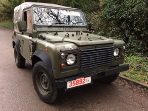 1998 Direct MoD - Great Condition Soft Top 90 Wolf - INCL VAT!! For Sale