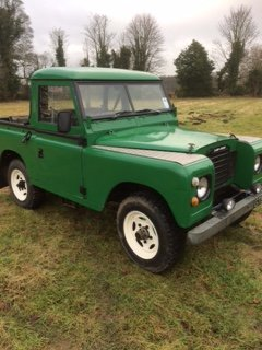 1971 Land Rover series 3 200tdi conversion For Sale