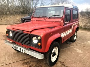 1986 land rover 90 2.5 petrol CSW 2 owners just 94000m  For Sale