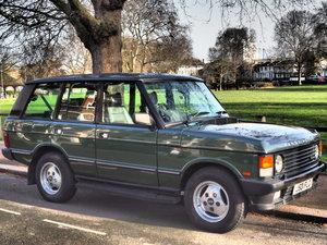 1991 Classic Ranger Rover SE For Sale