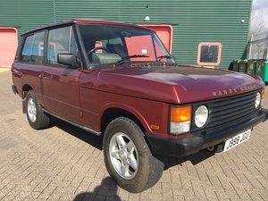 1990 1992 Range Rover 2 Door Classic Manual MOT JAN2020 For Sale